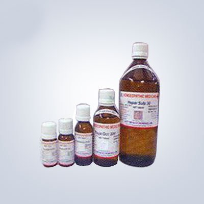 Potentised Dilutions