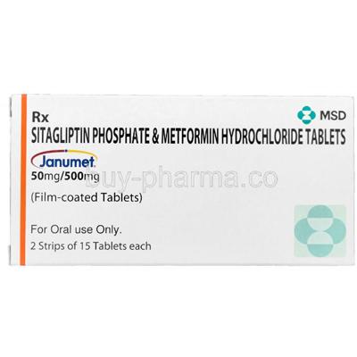 Sitagliptin Phosphate  Metformin Hydrochloride Tablets