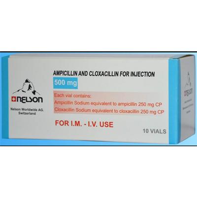 AMPICILLIN SODIUM & CLOXACILLIN SODIUM