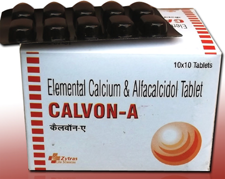 CALVON A