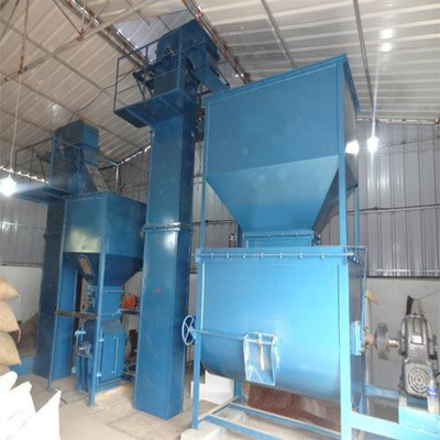 Manual Cattle Mesh Feed Plant