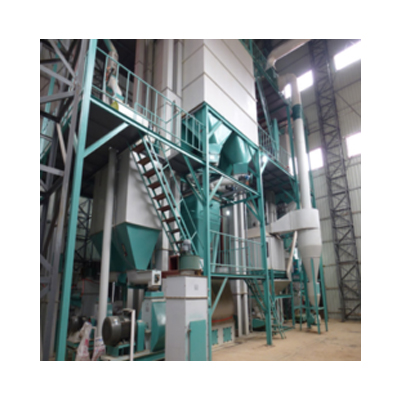 Fully Computerised Cattle Feed Plant