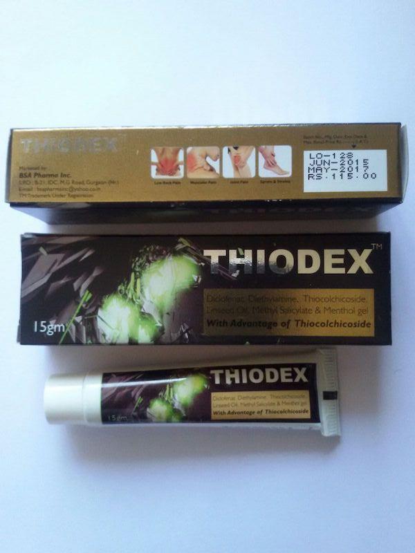 THIODEX GEL