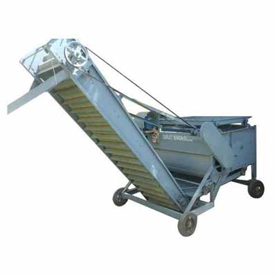Power Seed Cleaner With Conveyor