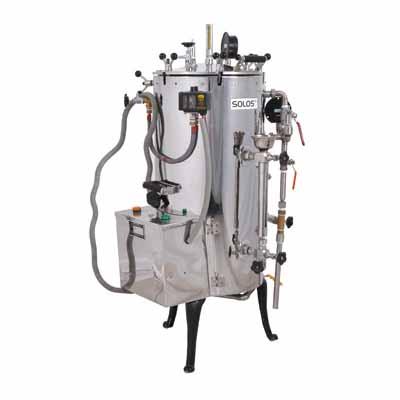Vertical Autoclave - Steam Storage