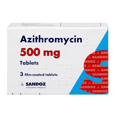 AZOMYCIN 500