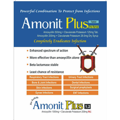 AMONIT PLUS 625 TAB