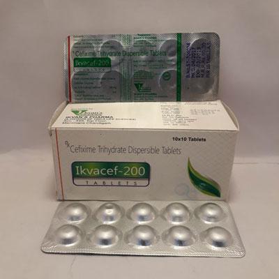 Ikvacef-200 Tablets
